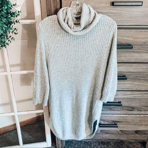 NWOT VICI Turtleneck Tunic Sweater